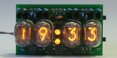 IN-17 Tiny Nixie Clock